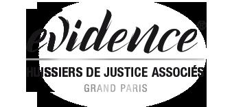 logo Evidence Huissier de Justice Grand Paris